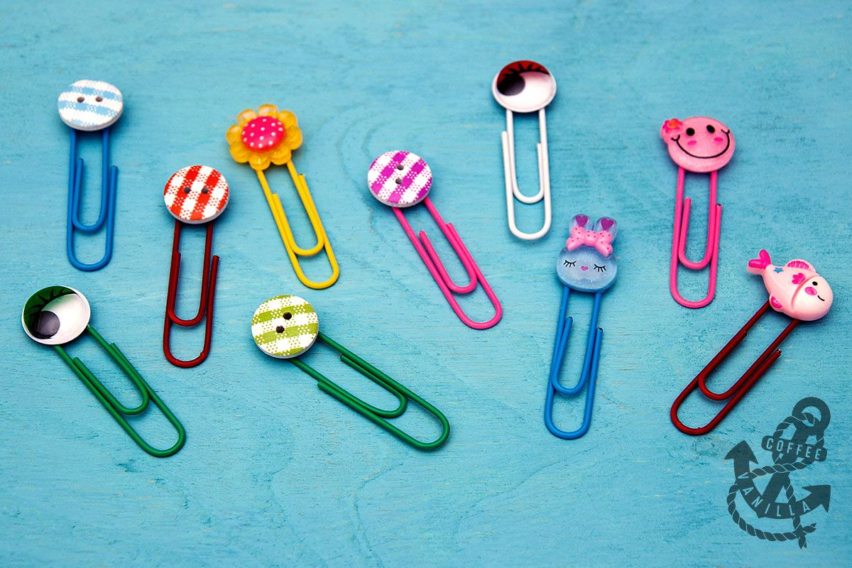 Decorated Paper Clips 30 Minute Crafts Paper clips diy