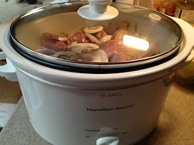 A Healthy Makeover: Slow Cooker Beef Stroganoff