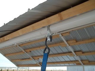 Replace Canvas Roof With Corrugated Steel | Portable ...