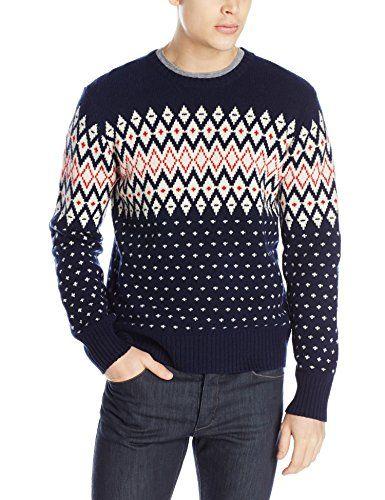GANT Men's Christmas Wool Fairisle Crew http://www ...