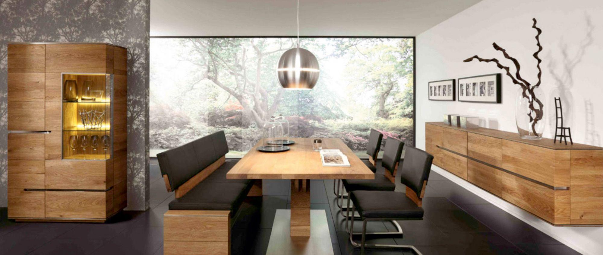 Esszimmer   Massivholz   Tisch   Sideboard   Vitrine - bei Möbel ...