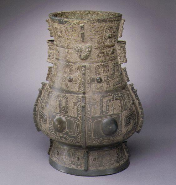 www.school.edu.ru :: Ритуальный бронзовый сосуд XV—XI вв ...