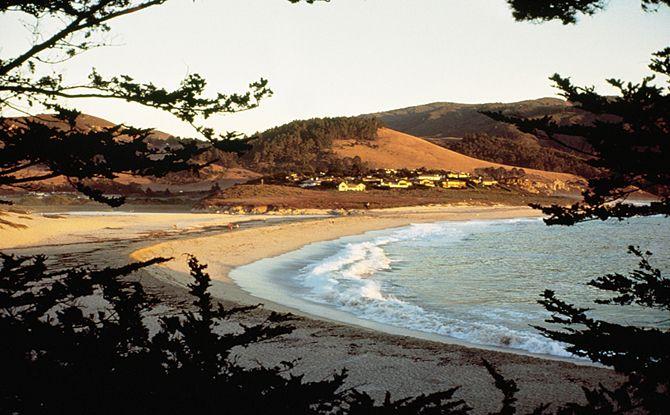 Carmel River State Beach Camping Monterey County California Parks Beaches