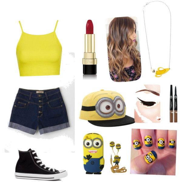 Minio obsession!!! by ynicole1209love on Polyvore featuring polyvore, fashion, style, Topshop, Converse, Tatty Devine and Dolce&Gabbana