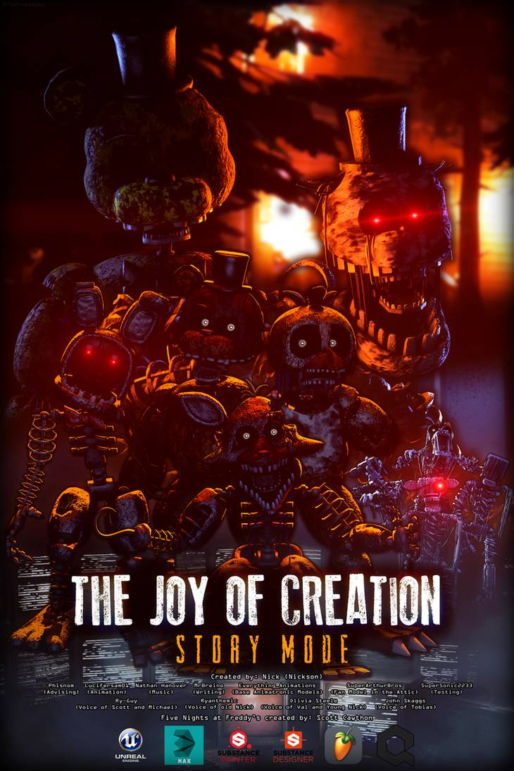 Pin By Charlie Watson On The Joy Of Creation Fnaf Wallpapers Fnaf Five Nights At Freddy S