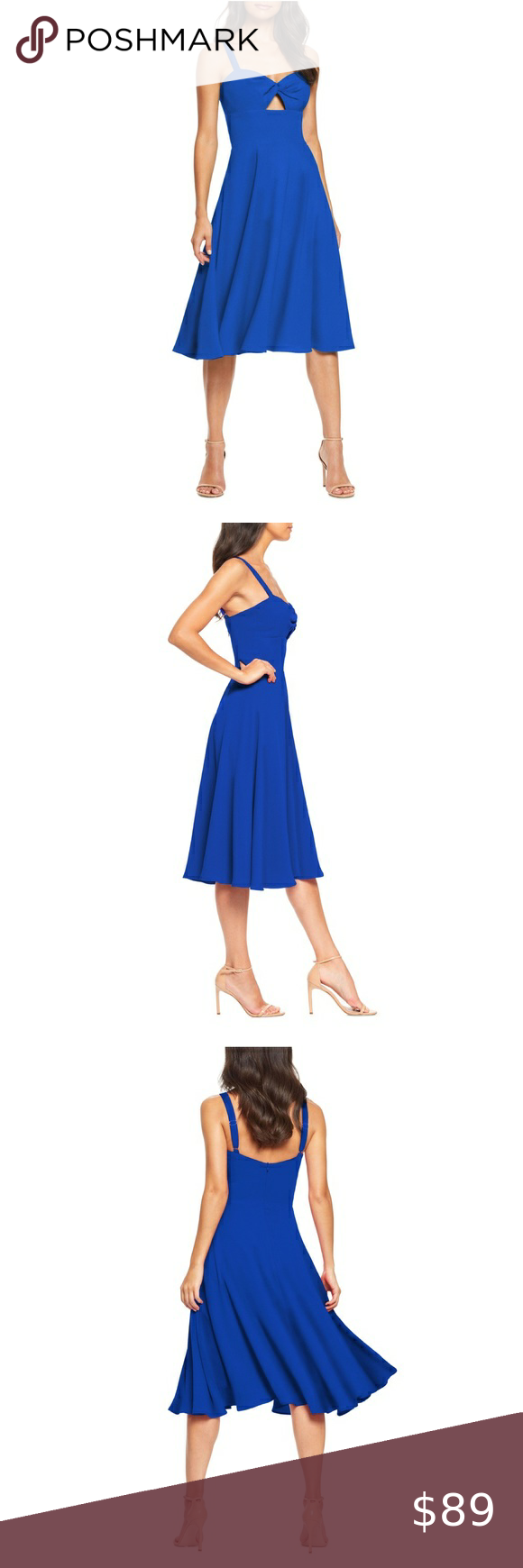 Nwt Dress The Population Sweetheart Midi Dress Dress The Population Colorful Dresses Midi Dress [ 1740 x 580 Pixel ]