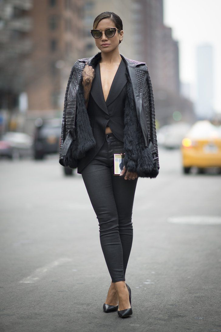 Pin for Later: Street Style bei der New York Fashion Week Tag 1
