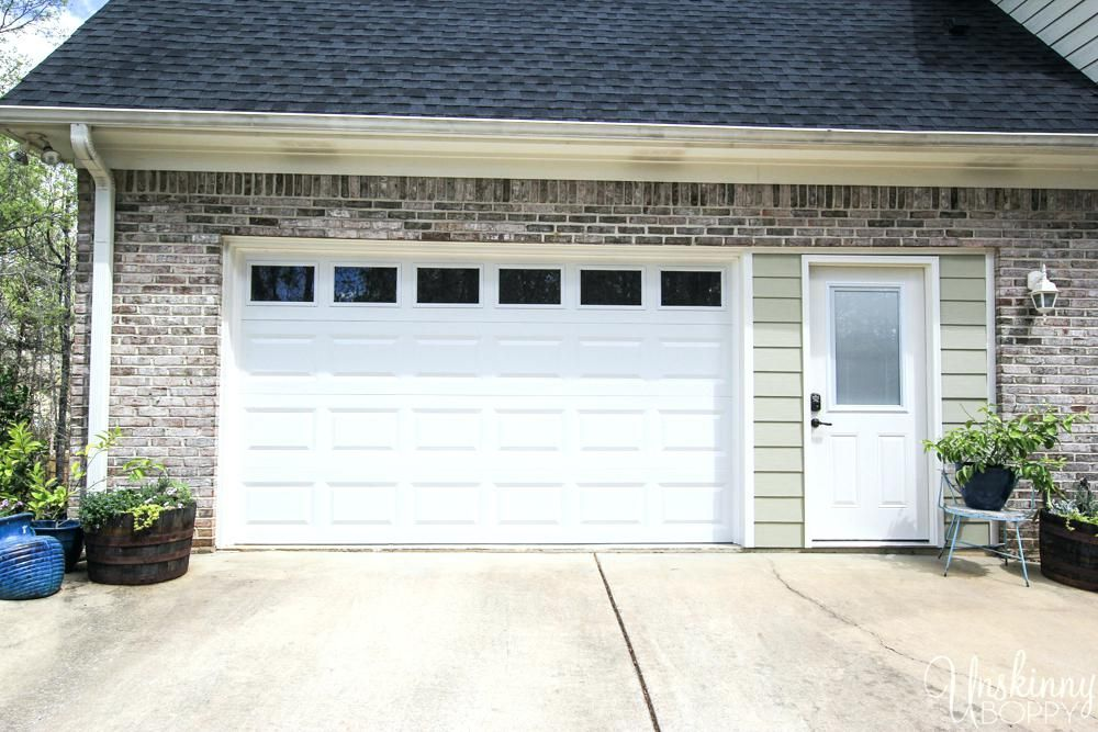 Replacing Double Garage Door With Single And Exterior Door 7 The