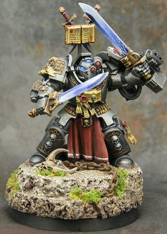 5 Space Marine Grey Knight Nemesis Force Swords Bits