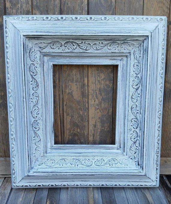 20 X 30 Colonial Style Wood Picture Frame Wedding Etsy Shabby Chic Frames Chic Frames Picture On Wood