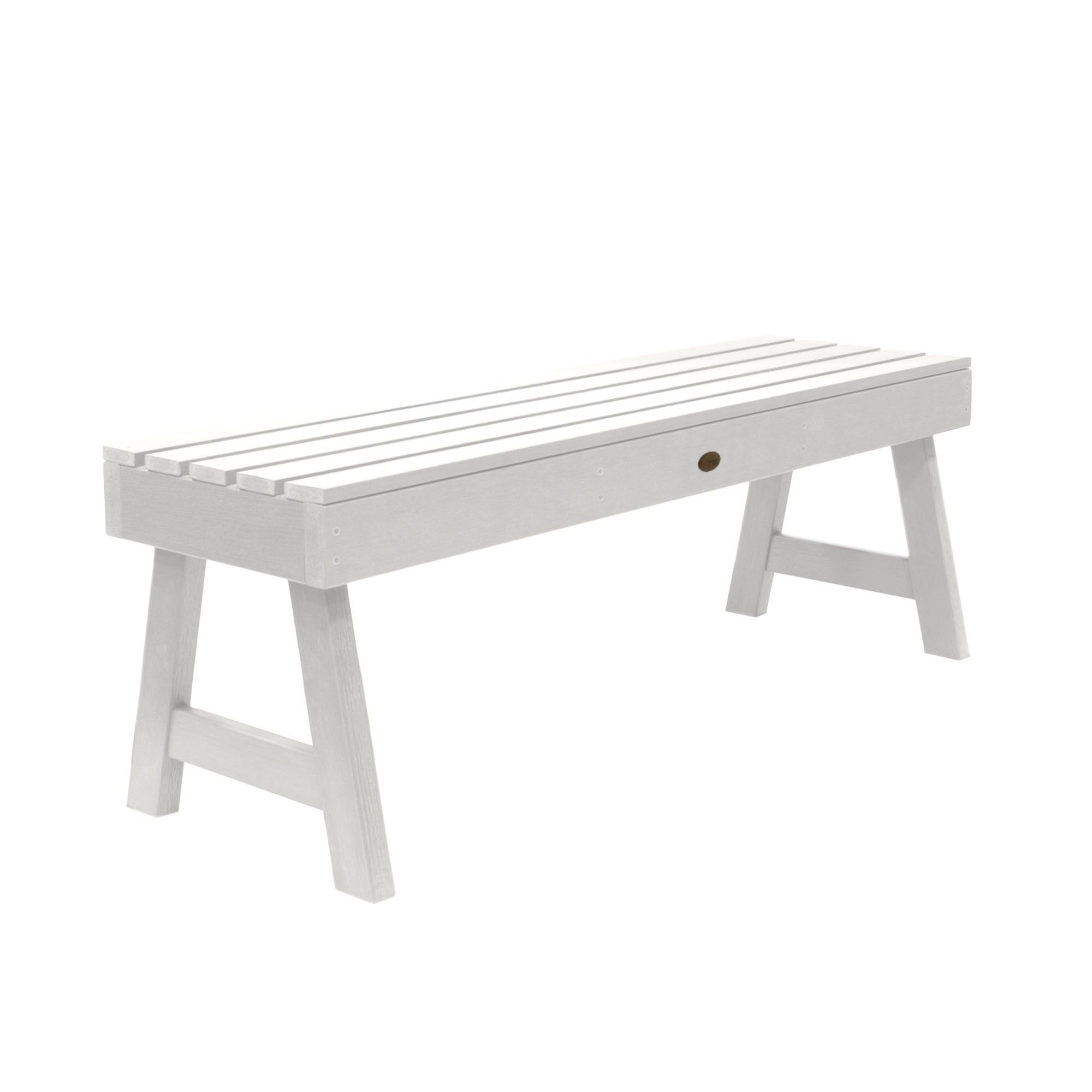 Swell Weatherly Picnic Bench 4Ft White Highwood Products Ibusinesslaw Wood Chair Design Ideas Ibusinesslaworg