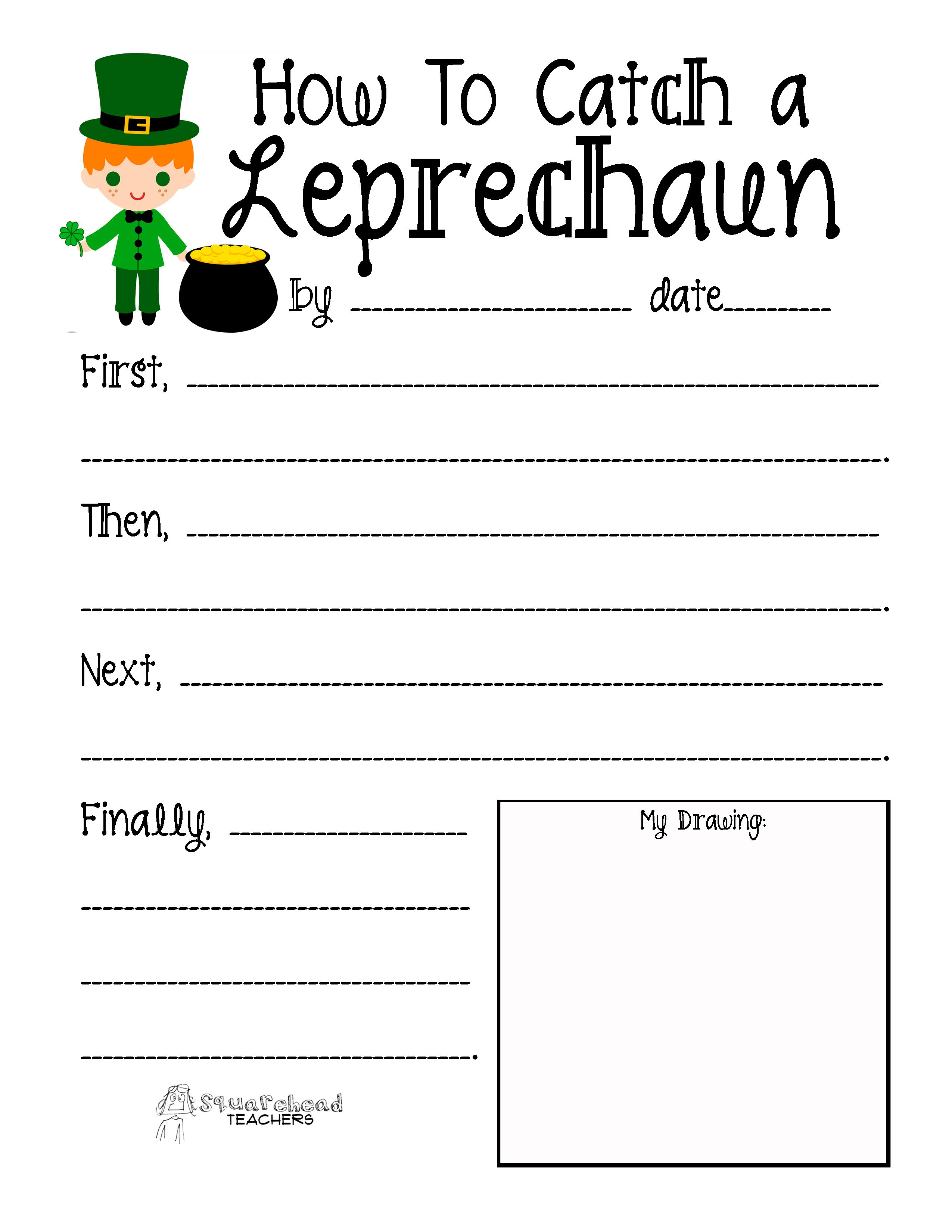 how to catch a leprechaun library lessons pinterest