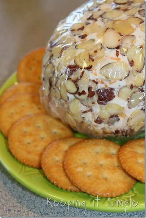 Keeping it Simple: Amazing Cheese Ball Recipe