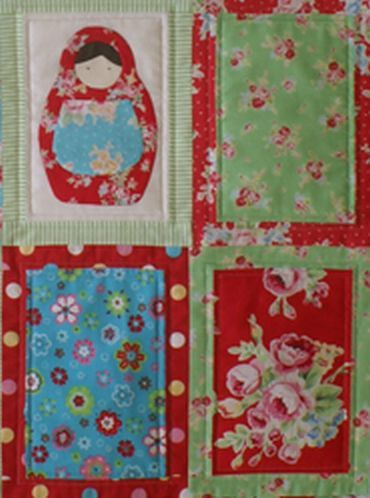 babushka dolls quilt pattern | quilts | Pinterest | Doll quilt ... : doll quilts patterns - Adamdwight.com