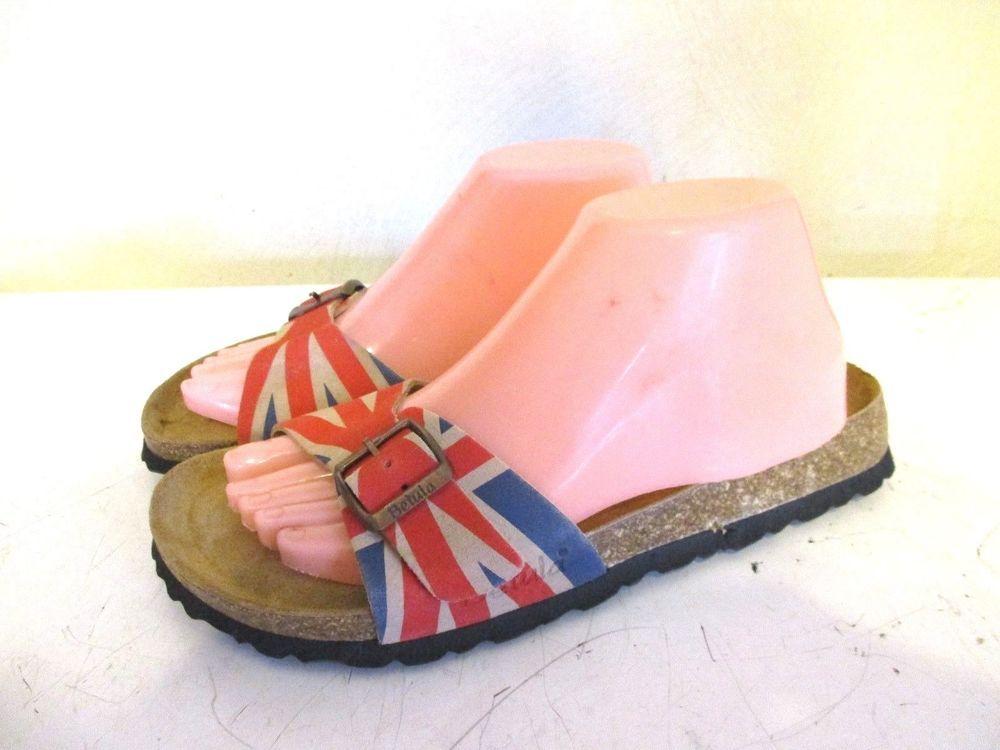 045a67b283c8 Birkenstock Betula Luca UK British flag slide sandals soft footbed EU 40 US  9 #Birkenstock #Flat
