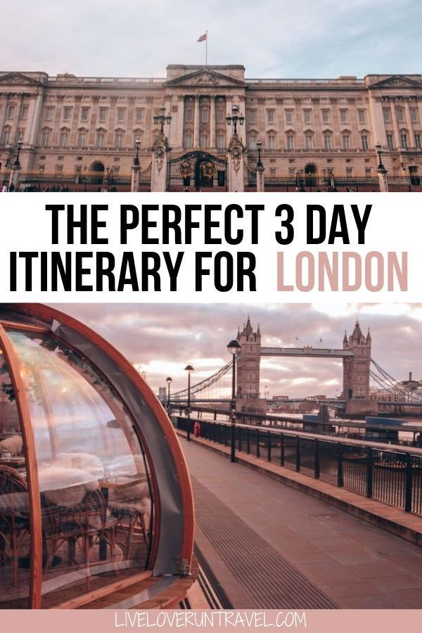 The Most Instagrammable Places in London: A 3 Day Itinerary