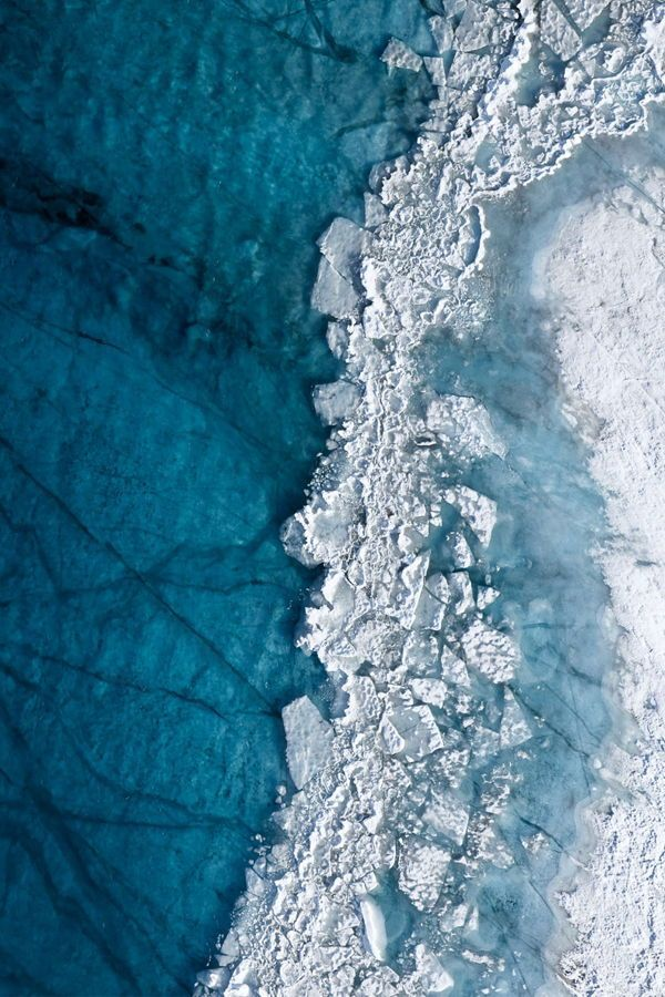 Interview: Melting Greenland Ice Sheet Captured in Ominous Aerial Photos