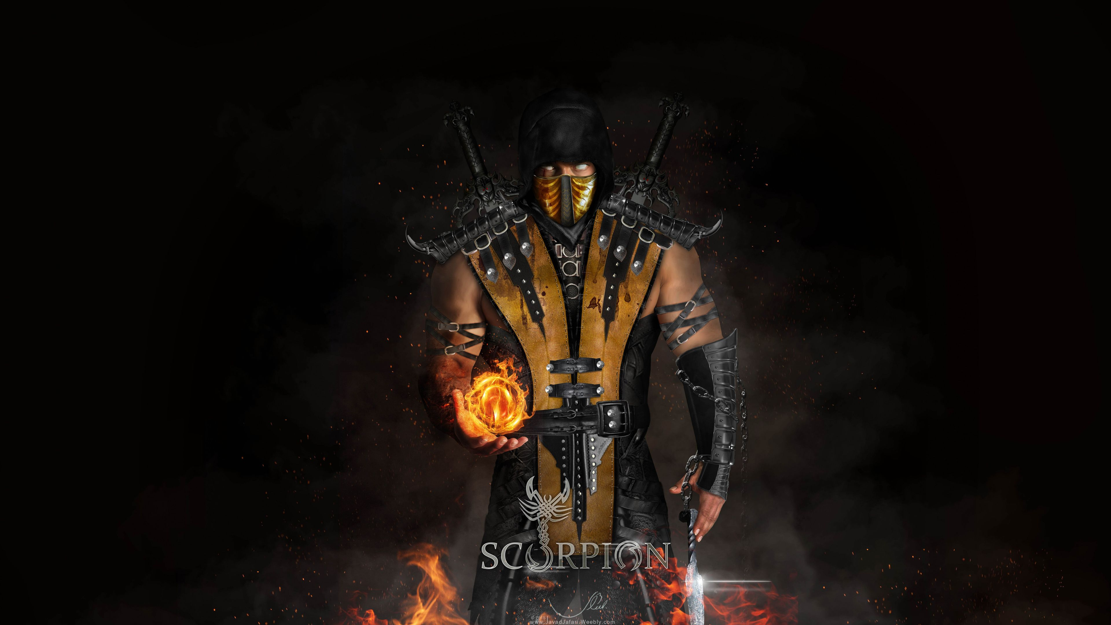 Scorpion Mortal Kombat X 4k Xbox Games Wallpapers Ps Games Wallpapers Pc Games Wallpapers Mo Scorpion Mortal Kombat Mortal Kombat X Mortal Kombat X Scorpion