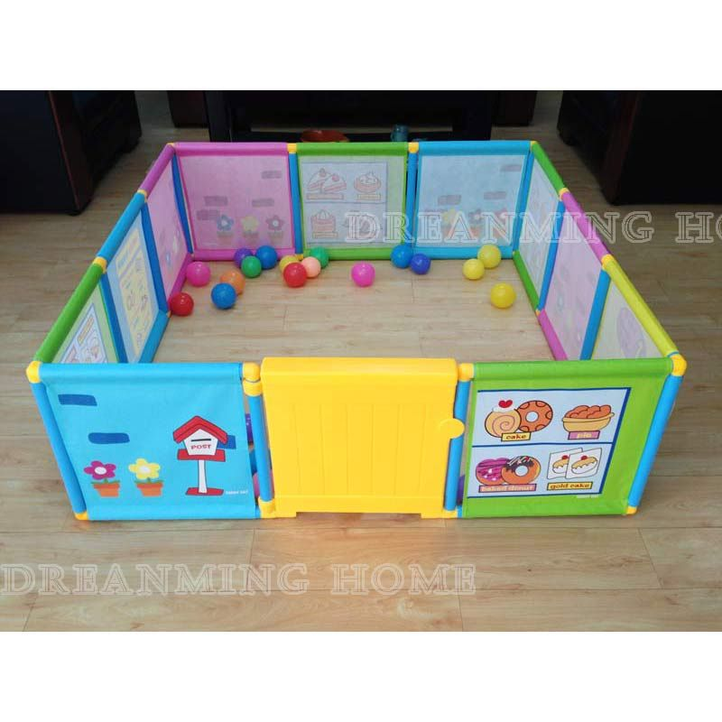 Baby Playpen Kids Fence Playpen Plastic Baby Safety Fence Pool 6 Months Like This Have Space For Parque Infantil Bebe Juegos Para Beber Parques Infantiles