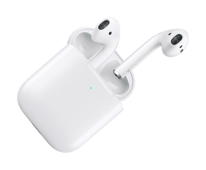 Apple Airpods Generation 2 With Wireless Charging Case Mrxj2am A Bluetooth Earbuds Wireless Wireless Earbuds Earbuds