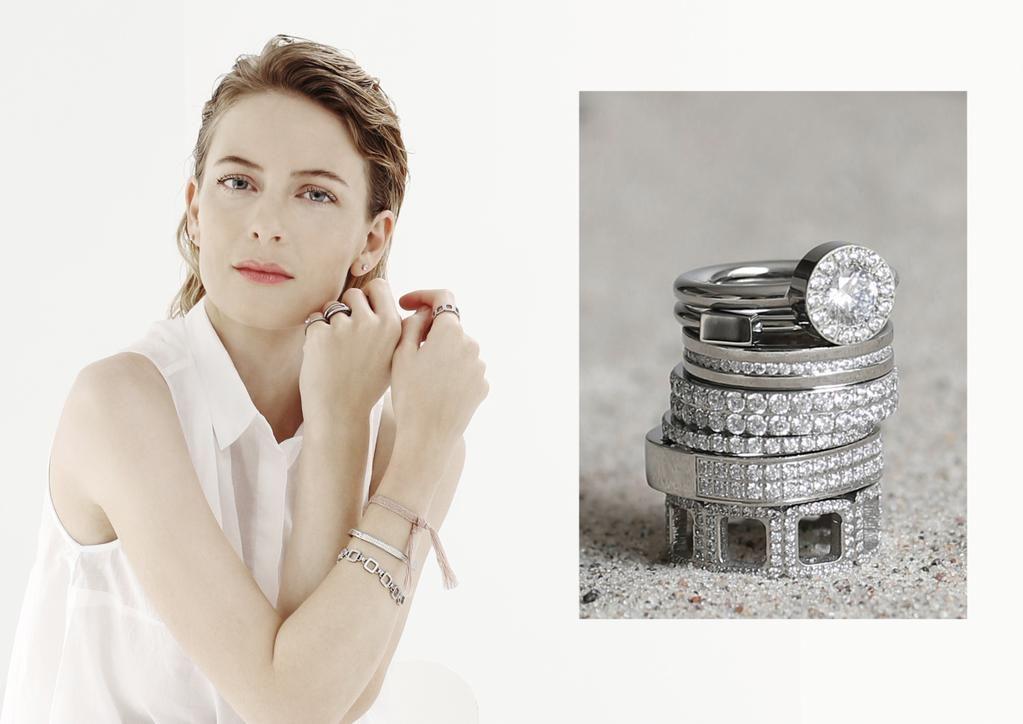 Stunning ring stack by #edblad