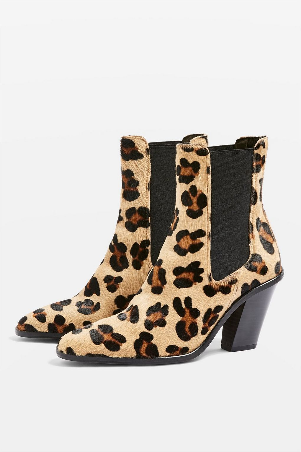 85d7e48f9b7d Morty Leopard Print Ankle Boots - Trend: Animal Print - Clothing - Topshop  Europe