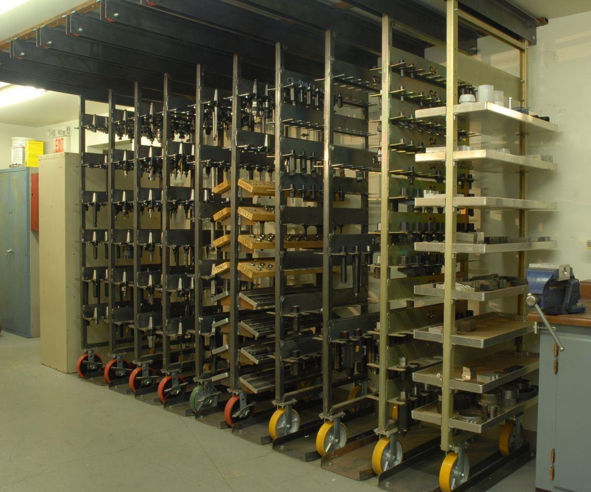 Custom Tool Storage System Simplifies Setups Tool