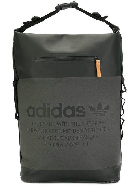 de40b48e6710 Adidas Originals logo print backpack .