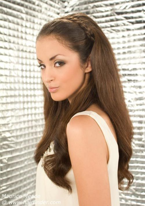 Awe Inspiring Hairstyle For Long Hair Hairstyles And Braid Hairstyles On Pinterest Hairstyles For Women Draintrainus