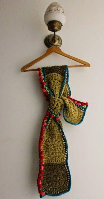 Yari, crochet y mas: Hoy quiero recordar este foulard