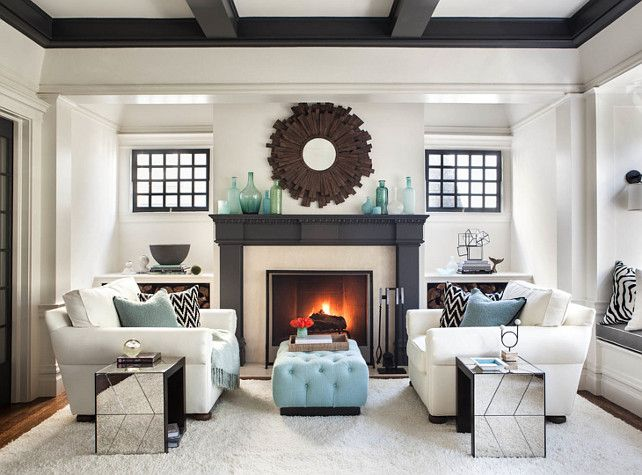 Captivating 20+ Living Room With Fireplace That Will Warm You All Winter