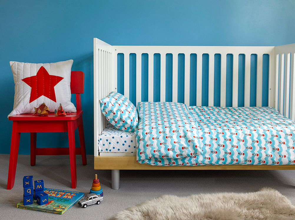 Wonderful Quirky Bed Linen Part - 13: Childrenu0027s Characterful Quirky Bright Bed Linen