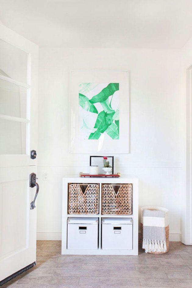 17 ideas para decorar una entrada o recibidor muy pequeño con mucho - Ideas Con Mucho Estilo
