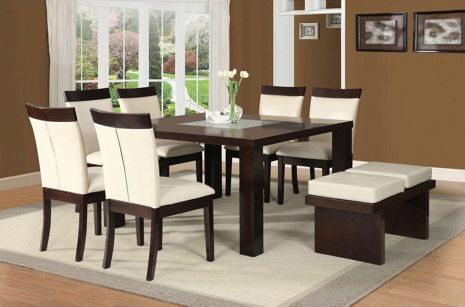 Keelin Dining Room Set Square Dining Room Table Modern Dining