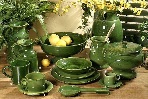 INTRADA ITALY - u0027Provenza Greenu0027 Dinnerware Collection | Distinctive-Decor.com & INTRADA ITALY - u0027Provenza Greenu0027 Dinnerware Collection ...