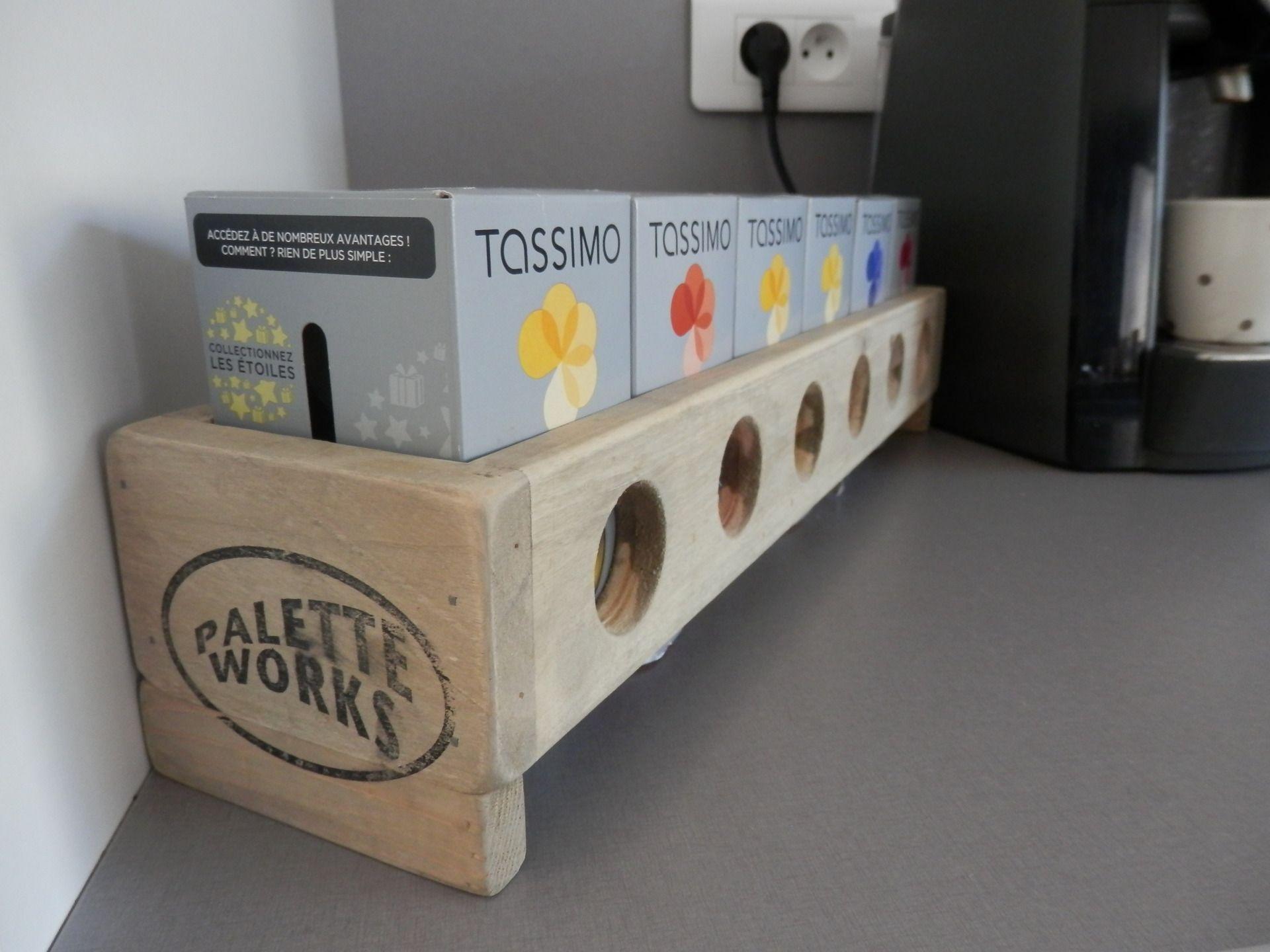 Bien-aimé Distributeur de capsules à café Tassimo by PaletteWorks : Cuisine  HG38