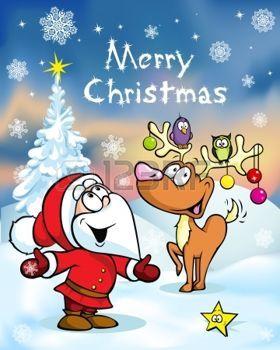 Frohe Weihnachten Bewegte Bilder.Stock Photo Bilder Kitu Lustige Weihnachtswunsche