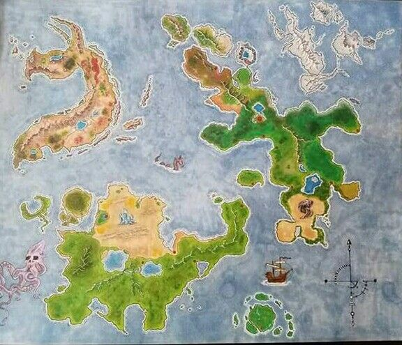 World map rpg fantasy dnd Dungeons and dragons. Full Map Set | D&D ...