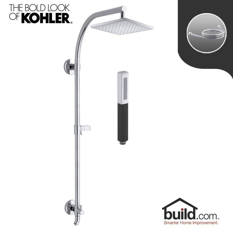 Charming View The Kohler HydroRail K 13695/K 14788 Package Shift HydroRail Shower  Package