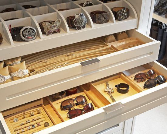 Charming U201cThose Are Custom Jewelry And Belt Drawers From LA Closet Design. You Could  Get