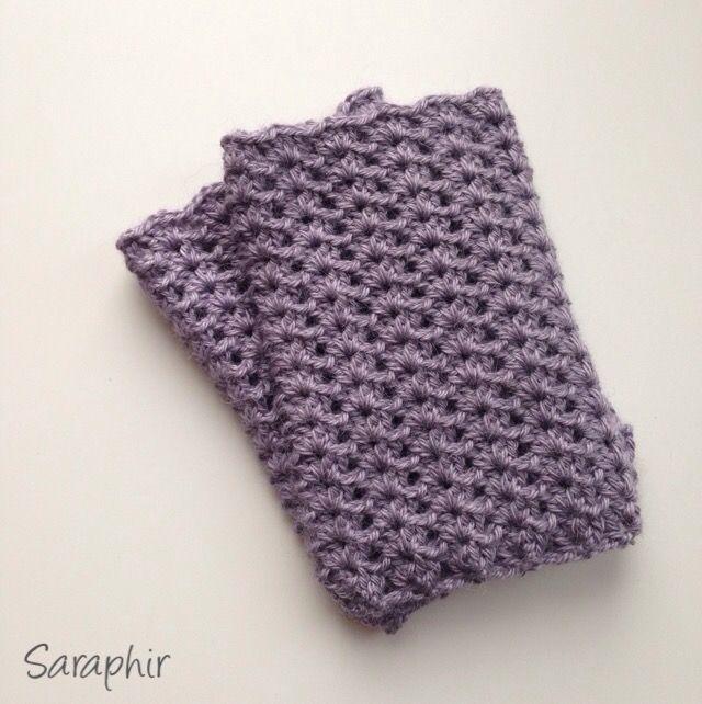 Pattern For Crochet Wrist Warmers By Saraphir Crochet