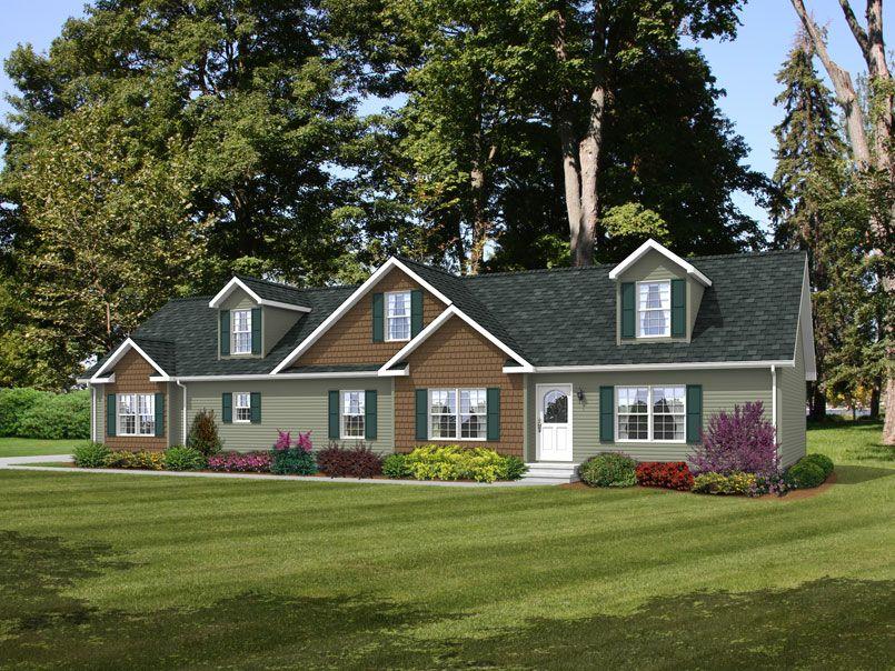The Rockwell Rb528a Rockbridge Modular Ranch Home