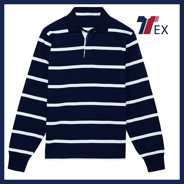 2016-2016 Custom100% Cotton Cheap Long Sleeve Rugby Shirts Online ...