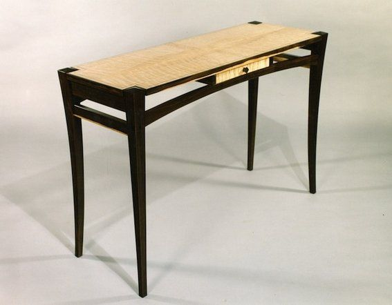Custom Made Hall Table by Mykiss Fine Woodworking ...