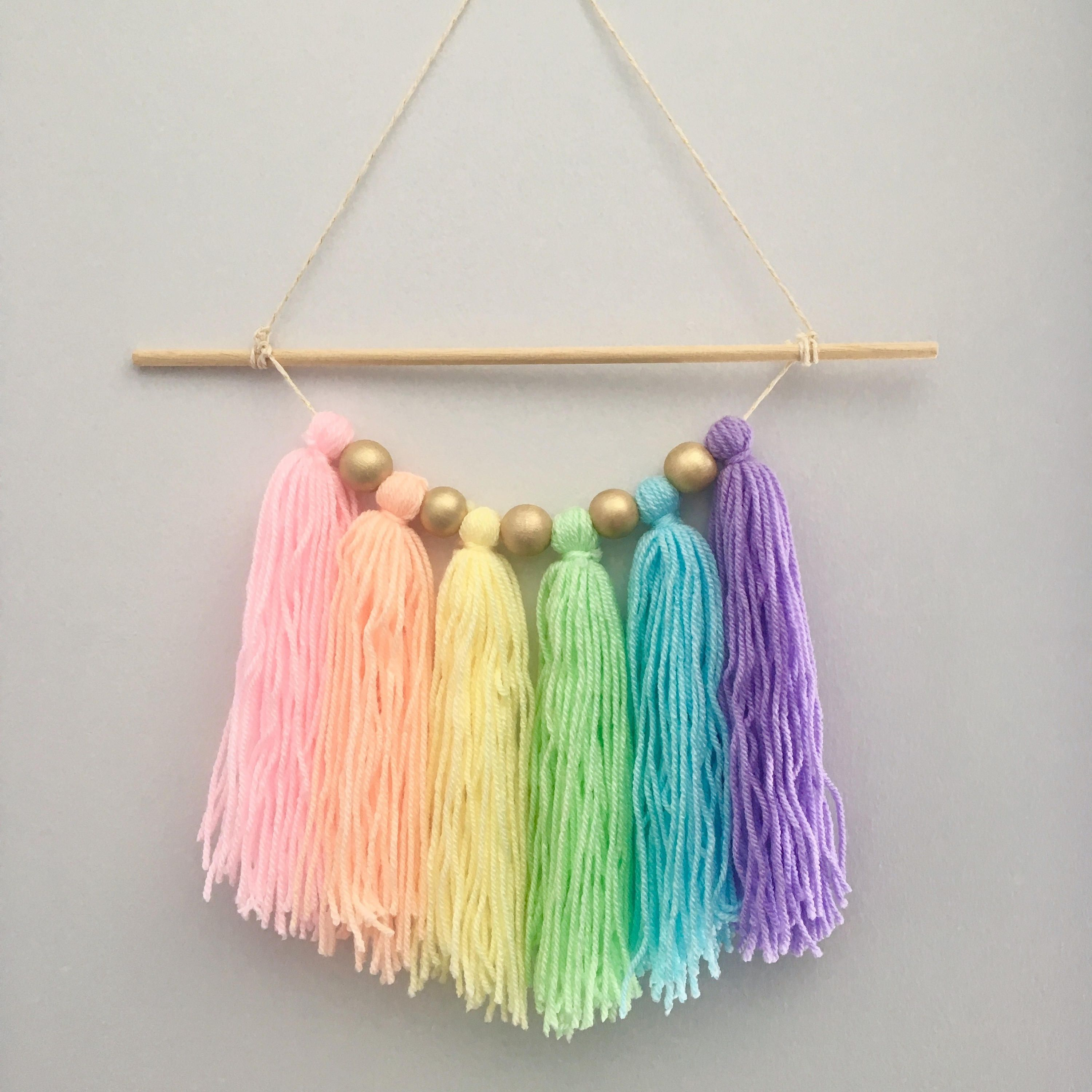 A Lovely Pastel Rainbow For Your Wall Available To Order
