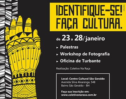 "Check out new work on my @Behance portfolio: ""Identifique-se! Faça Cultura."" http://be.net/gallery/47871055/Identifique-se-Faca-Cultura"