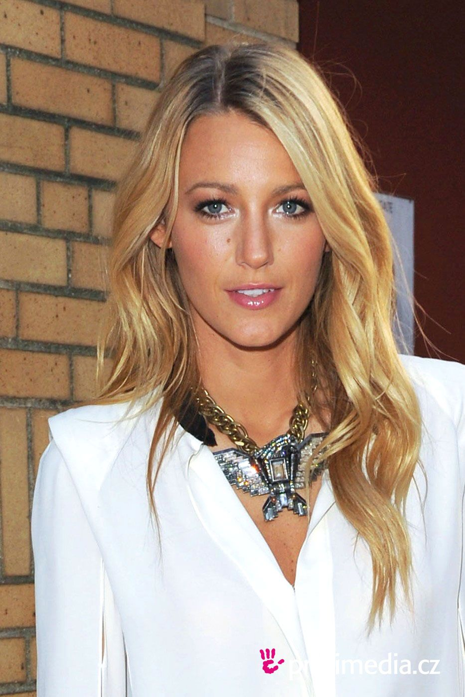Blake Lively's Long Hairstyles: Blonde Straight Hair forecasting