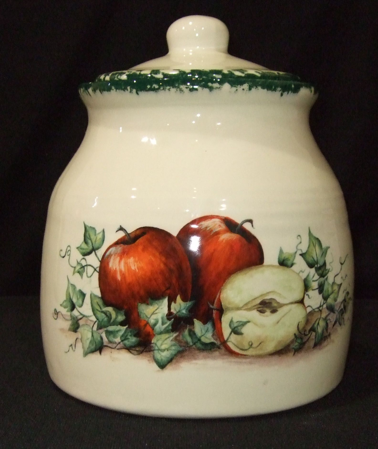 apples cookie jar cookie jars pinterest apple cookies apples cookie jar