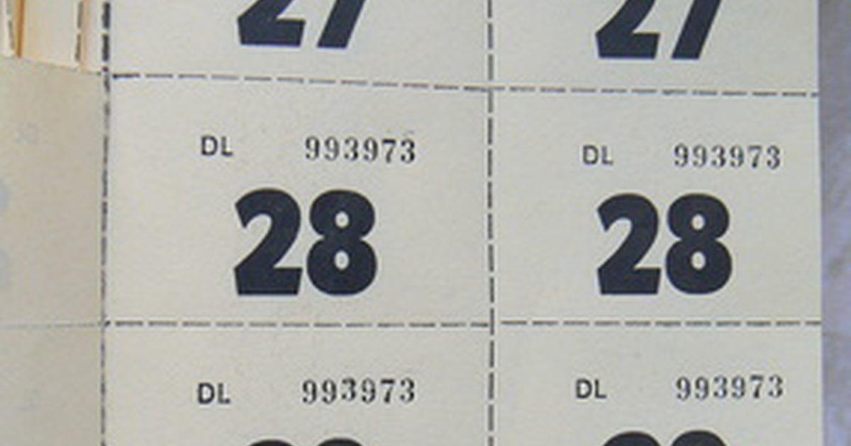 Cómo imprimir boletos numerados Boleto, Eventos especiales y Cabo - como hacer boletos para un evento