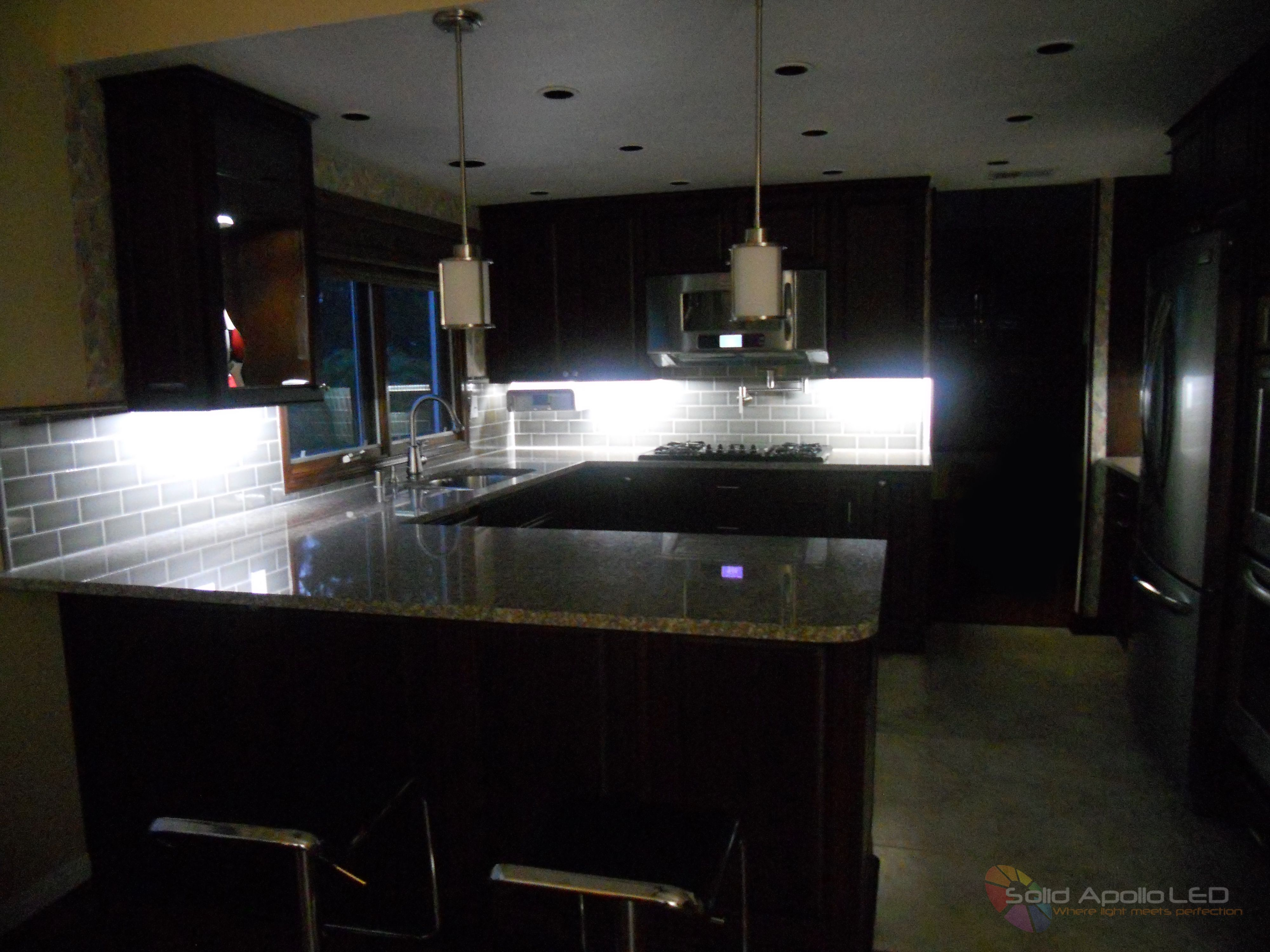 Kitchen Under Cabinet Lighting Project Solid Apollo LED